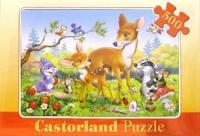 Puzzle-500. в-50918. бемби и друзья, Castorland