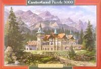 Puzzle-3000. с-300099. замок у подножия гор, Castorland