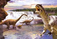 Puzzle-260. в-26616. динозавры-2, Castorland