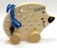 Ежик на колесиках (ш-060), RN Toys