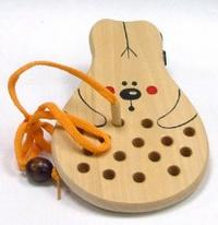 Заяц-шнуровка (ш-059), RN Toys
