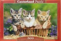 Puzzle-500. в-51168. три котенка, Castorland