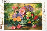 "Пазл ""цветы в вазе"", 1500 элементов, Step Puzzle (Степ Пазл)"