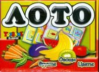"""Лото """"фрукты. овощи. цветы"""", Белфарпост"""