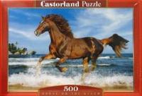 Puzzle-500. в-51175. лошадь, Castorland