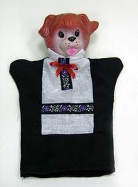 Пес, кукла-перчатка, Русский стиль