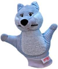 "Игрушка-рукавичка ""волк"", Мякиши"