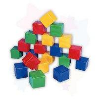 Набор кубиков (10 штук), Строим вместе счастливое детство