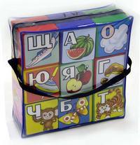 "Кубики ""алфавит"", Строим вместе счастливое детство"