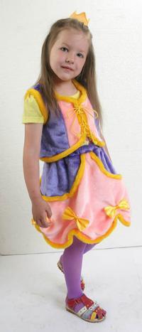 """Новогодний костюм """"принцесса"""", Макси"""
