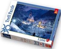 Пазл «снежная бавария», 1500 деталей, Trefl