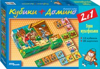 Кубики + домино, Step Puzzle (Степ Пазл)