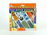 Набор металлической техники. motor wheels, 8 штук, Shenzhen Jingyitian Trade Co., Ltd.