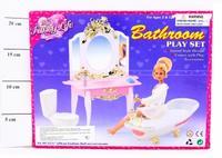 Набор мебели для кукол gloria. ванная комната, Shenzhen Jingyitian Trade Co., Ltd.