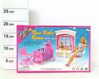 "Набор мебели для кукол ""детская"". арт. 24022, Shenzhen Jingyitian Trade Co., Ltd."