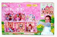 Замок для куклы с мебелью, 187 деталей, Shenzhen Jingyitian Trade Co., Ltd.