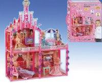 Замок для куклы с мебелью и светом, Shenzhen Jingyitian Trade Co., Ltd.