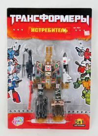 Трансформер. истребитель. арт. 8001, Play Smart (Joy Toy)