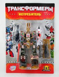 Трансформер. истребитель. арт. 8002, Play Smart (Joy Toy)