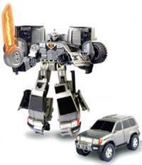 Робот-трансформер toyota land cruiser. арт. 50060, Happy Well