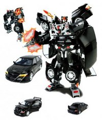 "Робот-трансформер ""mitsubishi - lancer evolution ix"". арт. 51010, Happy Well"