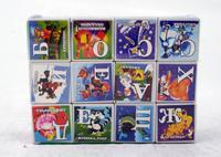 Кубики с русским алфавитом, картинками с героями мультфильмов. арт. 7056, Shenzhen Jingyitian Trade Co., Ltd.