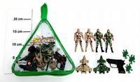 "Военный набор ""military series"". солдаты с аксессуарами, пистолеты, самолеты. арт. 125d, Shenzhen Jingyitian Trade Co., Ltd."