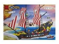 """Конструктор """"пиратский парусник"""", 870 элементов, ENLIGHTEN (Brick)"""