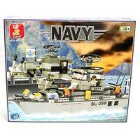 """Конструктор """"военный корабль navy"""", 449 деталей, SLUBAN"""