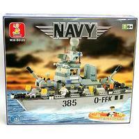"""Конструктор """"военный корабль navy"""", 461 деталь, SLUBAN"""