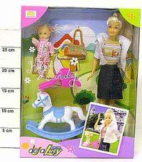 Кукла defa. люси с дочкой, игрушки. арт. 20972, Shenzhen Jingyitian Trade Co., Ltd.