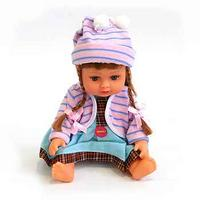 """Кукла музыкальная """"алина"""" с косичками в сумочке, Play Smart (Joy Toy)"""