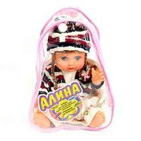 Кукла музыкальная, алина с косичками в рюкзачке. арт. 5057, Play Smart (Joy Toy)