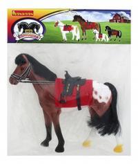 Лошадь с седлом и уздечкой, Bondibon (Бондибон)