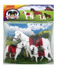 Лошадь с 2 жеребятами. арт. 3027, Bondibon (Бондибон)