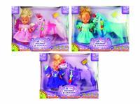 """Пони 5"""" с принцессой и аксессуарами 4,5"""". арт. 3326, Bondibon (Бондибон)"""