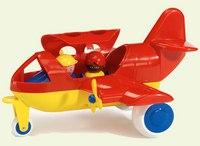 Самолет с 2-мя человечками (30 см), Viking Toys