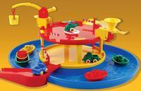 "Мультинабор ""гараж с гаванью"", 15 предметов, Viking Toys"