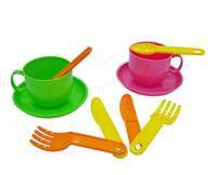 """Набор детской посуды """"минутка"""" на 2 персоны, Полесье"""