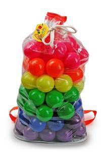"""Набор мячиков """"мультишар - 70"""", в рюкзаке (70 штук), Рославльская игрушка"""