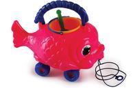 Рыбка-песочница-каталка (3 предмета), Рославльская игрушка