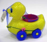 Утка-каталка-песочница, Рославльская игрушка