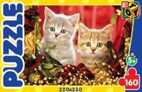 """Пазл """"котята с бусами"""", 160 элементов, Астрель"""