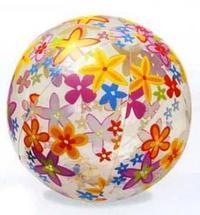 Мяч надувной с цветными картинками, Intex (Интекс)