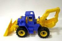 Трактор «ангара» с грейдером и ковшом, Нордпласт