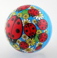 "Мяч пвх ""божья коровка"" (23 см). арт. 54-9419, Bondibon (Бондибон)"