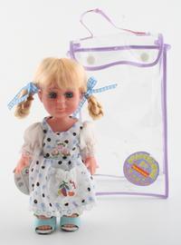 Кукла с косичками (20 см). арт. c443-8x, Bondibon (Бондибон)