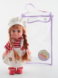 Кукла в берете с косичками, Bondibon (Бондибон)