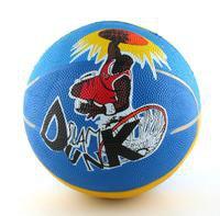 """Мяч баскетбольный №5 """"slam dunkl"""" (резиновый, цветной). арт. rb103, Shenzhen Jingyitian Trade Co., Ltd."""