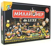 """Экономическая настольная игра """"миллионер de luxe"""", Астрель"""